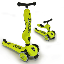 highwaykick_green_scooter_with_seat