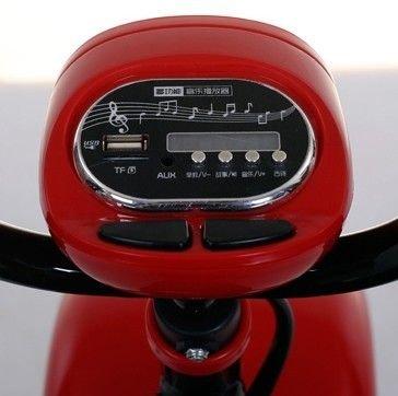 Детский электромотоцикл CityCoco - QK-306-WHITE